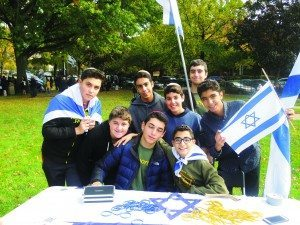 Young Great Neck residents raise money for the American Friends of Magen David Adom, an Israeli emergency medical services organization.