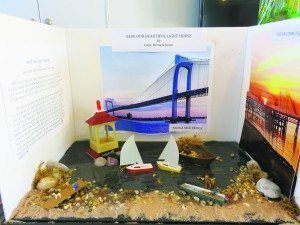 To enlighten the community about the Lighthouse, students from John F. Kennedy Elementary School conducted research and created projects.