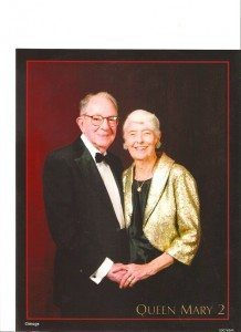 Howard and Joy were married for 68 years