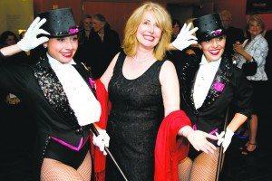 Executive Director Regina Keller Gil enjoyed the gala.