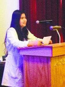 RN Paz Menjivar was host and organizer of the event.
