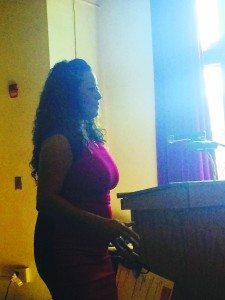 Dawn Diaz was the keynote speaker.