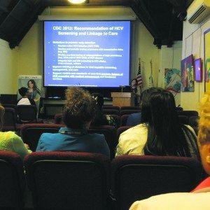 Dr. Tai-Ping Lee of North Shore-LIJ Hepatology presented on Hepatitis.