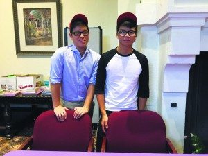 Zachary Han and Casey Poon are North High School students.