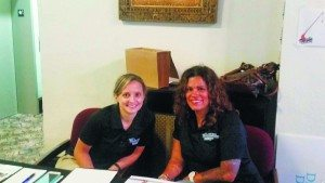 From left: Nurses Catherine Dunckley and Claudia Ramos are from North Shore Hospital trauma and accident prevention.