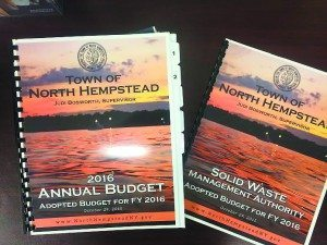 The 2016 adopted budget books