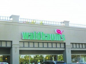 Waldbaum's Outside Sign Close Up