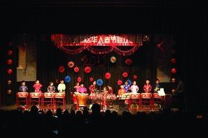 One of the children's percussion teams, which won gold medals locally and internationally, performed during the GNCA 2015 Chinese New Year celebration.