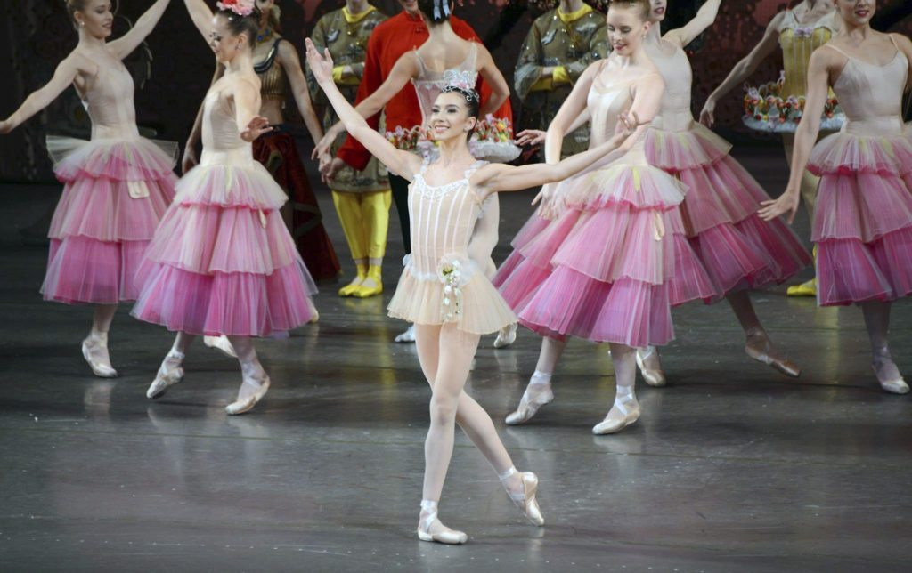 Ashley Hod appeared as Dewdrop in The Nutcracker this season.