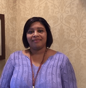 Keisha Johnson, the new director of Food & Nutritional Services