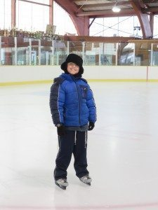 Skating is a fun activity when there's no school. (Photo by Sheri ArbitalJacoby)