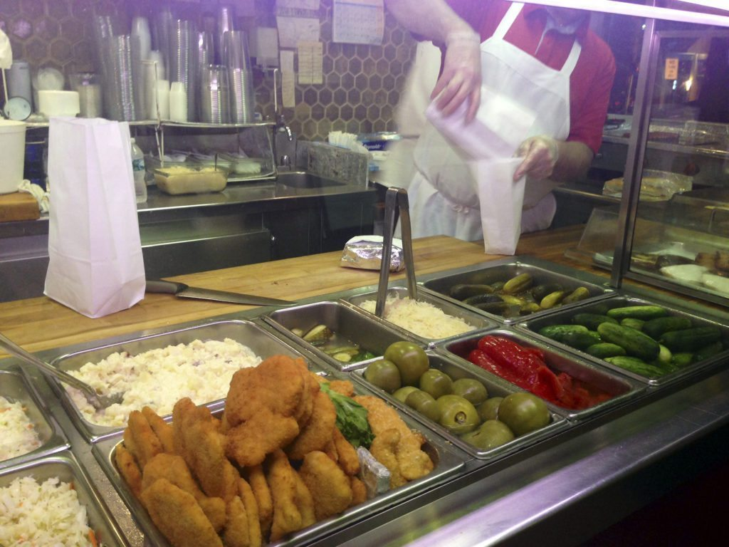 Find all your favorites at the deli counter. (Photo by Isabella Harnick)
