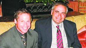 In 2010, past Superintendent Leonard Celluro (left) and Peter Renick, Deputy Superintendent (Photo by Michele Siegel)