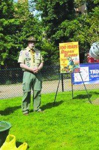 Scoutmaster Dr. Dwight Rosenstein