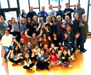 The entire cast of Bye Bye Birdie