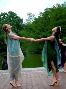 Beth Jucovy and Daniele Lee (Photo by Melanie Futurion)