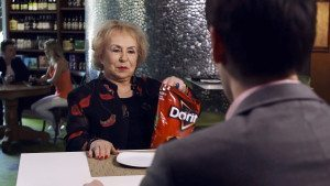 Doris Roberts stars in Rudy's commercial for Doritos Crash the Super Bowl ad contest.
