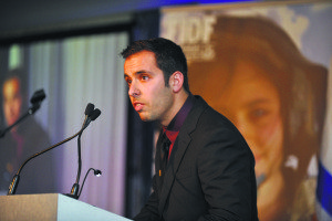 "Jake Steinberg, brother of fallen IDF Sgt. Max Steinberg Z""L, spoke at the FIDF Long Island Annual Appreciation Evening."