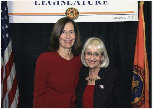 Nassau County Legislator Ellen W. Birnbaum and Town of North Hempstead Supervisor Judi Bosworth