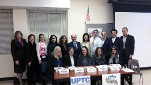 Participants included Superintendent Teresa Prendergast, UPTC copresidents, SHAI board members and panelists.