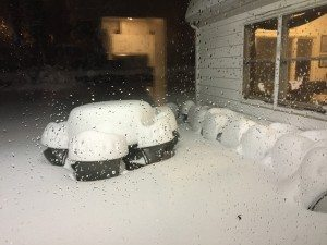 Snow table