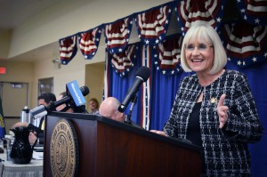 Supervisor Judi Bosworth gave her inaugural address.