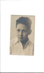 A young Bernie Kass
