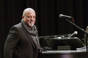 Billy Joel, who is donating $1 million to a local school, led a Q&A session at LIU Post.