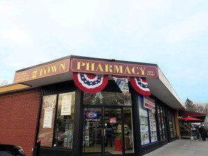 Town Pharmacy opened in the North Shore Farms shopping center. (Photos by Sheri ArbitalJacoby)