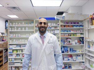 Pharmacist Alan Khorshidi