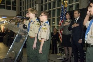 Boy Scout Troop 544 from New Hyde Park