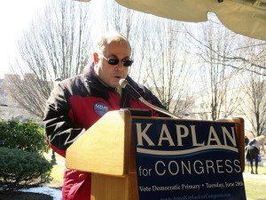 Matt Falcone, United States Marine Corps veteran and member of the North Hempstead Veterans Advisory Committee