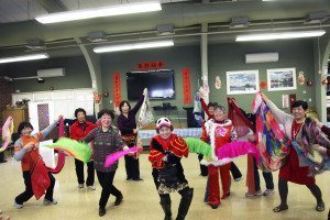 Close to 100 people attended the third annual Lunar New Year celebration at the Great Neck Social Center.