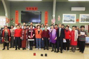 A chorus performance by Teacher Lei's class