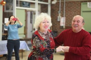 Swing Dance by Teacher Susan and Eric