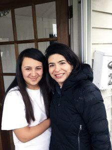 Monica Salinas opened her door to the campaigning Anna Kaplan.