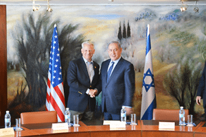 Rep. Steve Israel (left) with Israeli PM Benjamin Netanyahu in Jerusalem