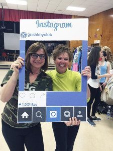 World Languages Department Chair Gala Handler and Health Department Head Jane Callaghan represented Great Neck South's faculty by participating in Zumba and rocking an hour of fitness.