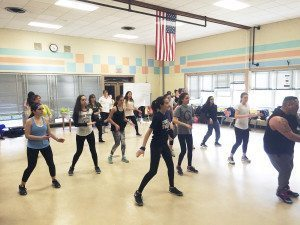 Zumba in action