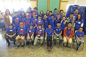 Lego League teams from North Middle and South Middle Schools