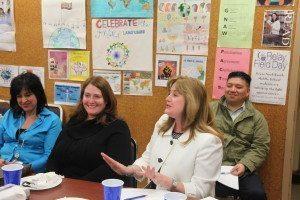 School Superintendent Dr. Teresa Prendergast discussed her job responsibilities.