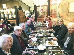 The Rotary Club of Great Neck held the monthly dinner meeting at Wild Ginger.