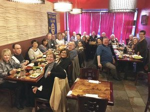 The Rotary Club of Great Neck enjoyed a dinner meeting at Sushi Fusion on Middle Neck Road.