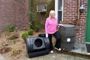 North Hempstead Town Supervisor Judi Bosworth encourages residents to sign up for the town's environmental programs.