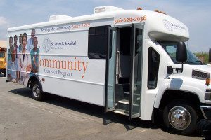 St. Francis Hospital's Community Outreach  Bus will be offering free health screenings to  seniors throughout North Hempstead in 2016.