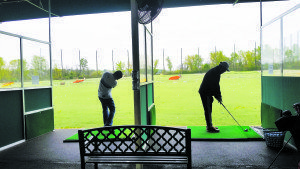 Alley Pond Golf Center driving stations