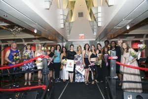 Patients celebrating recovery walked the runway. (Photos by Richard Black Studio)