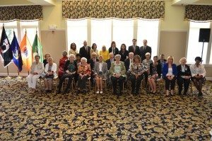 Supervisor Judi Bosworth and the town board with honorees from the 44th Annual Senior Recognition Luncheon on May 19