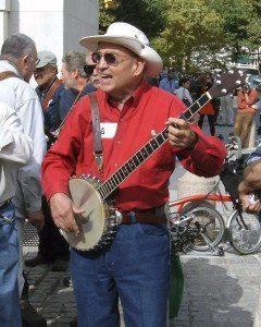 Dave Sear in Washington Square