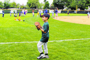 The Park District and Great Neck Little League offered baseball competitions on the newly renovated baseball field #3.